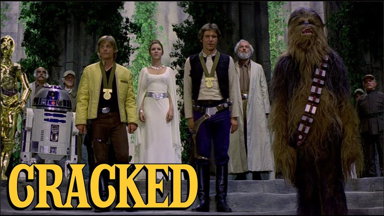 Why The Ending of Star Wars is Secretly Kind of Dumb   Today's Topic