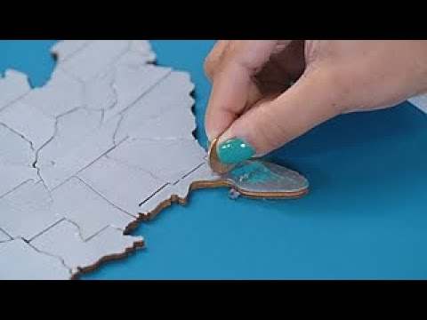 How to Make a DIY Scratch-Off Map - Travel Channel