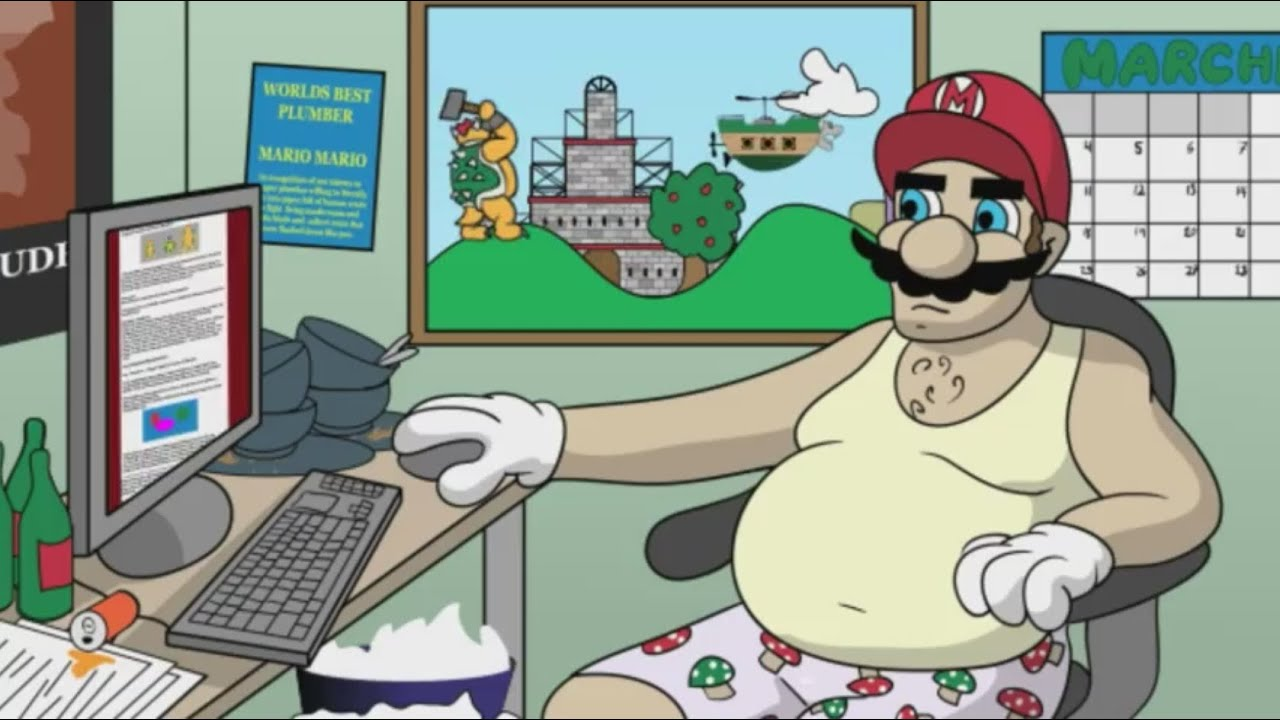 Why Mario is Secretly a Dick With a Mustache | After Hours