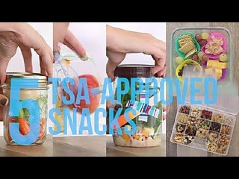 5 TSA-Approved Snacks - Travel Channel