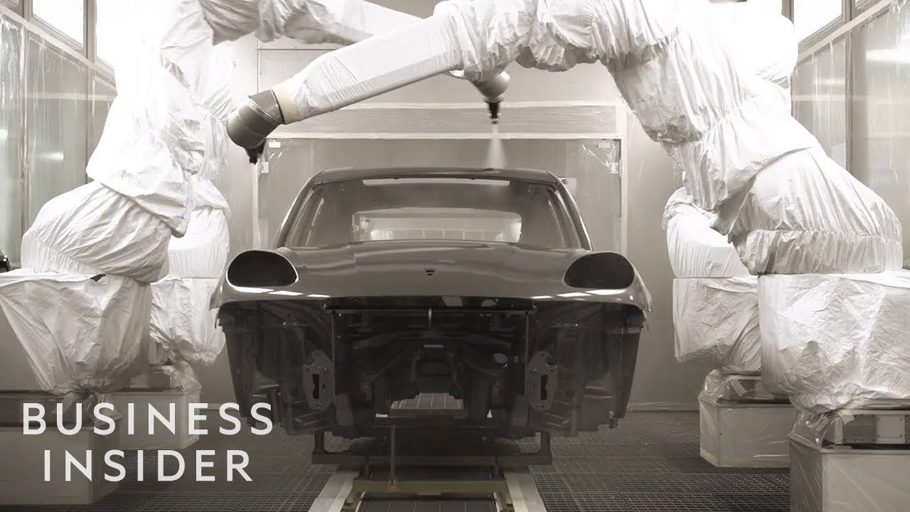 How Porsches Are Made