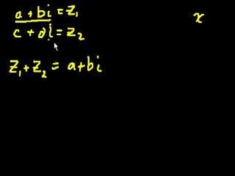 Complex Numbers (part 1)