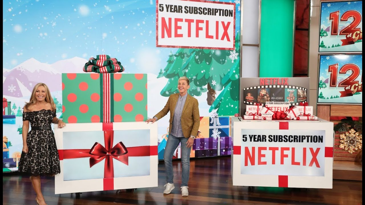 Ellen Kicks Off 12 Days with Incredible Gifts, Perfect for Cyber Monday