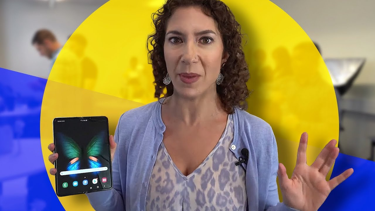 """Hands On with Samsung's """"Fixed"""" Galaxy Fold"""