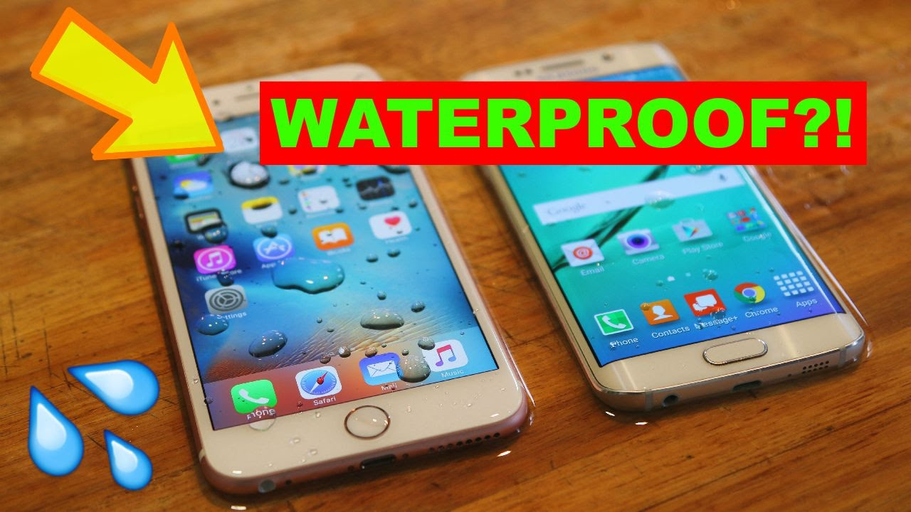 New iPhone 6S Plus is Waterproof