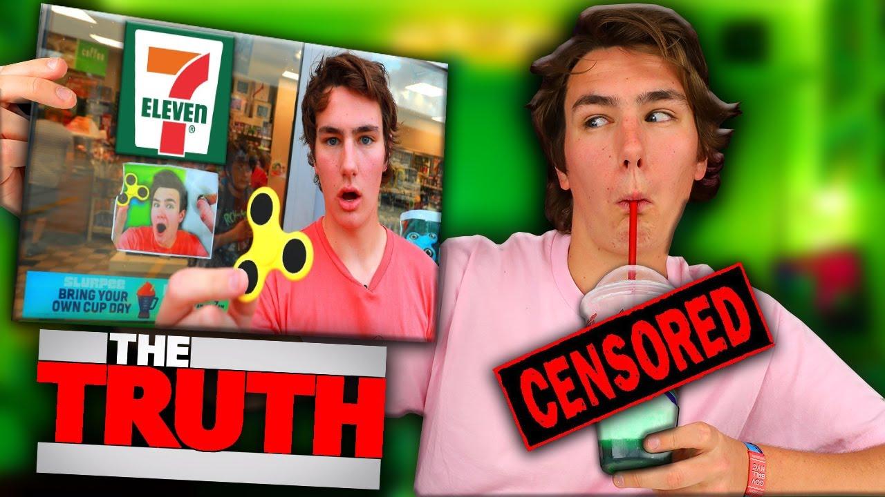 Did TechSmartt FAKE the 7-Eleven Fidget Spinner Video?