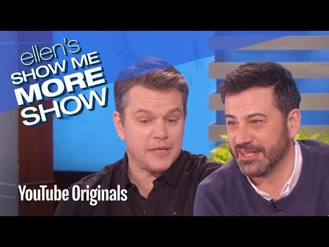 He Said, He Said: Jimmy Kimmel vs. Matt Damon