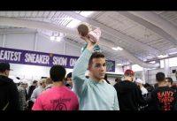 Here's what it's like inside Sneaker Con