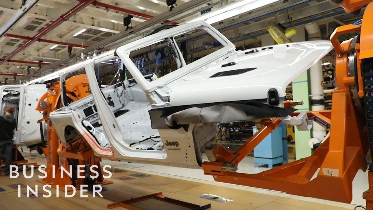 How A Jeep Wrangler Is Made