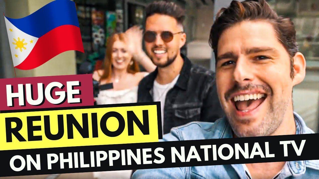 Huge REUNION on PHILIPPINES NATIONAL TV with The Juicy Vlog