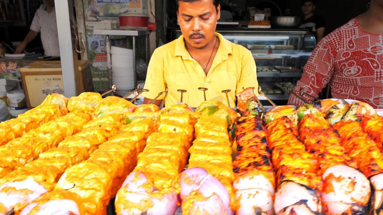 HUUUGE Indian Street Food ADVENTURE in Jaipur, India   BEST VEGETARIAN Street Food in India -SPICY!