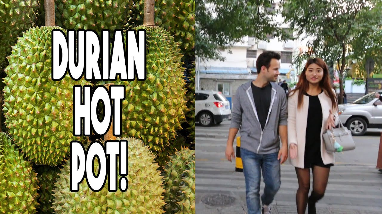 INSANE Durian Chicken Hot Pot in China! Disgusting or Delicious?