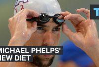 Michael Phelps' new diet