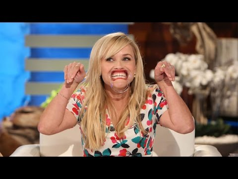 Reese Witherspoon Plays 'Speak Out'
