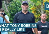 What Tony Robbins Is Really Like