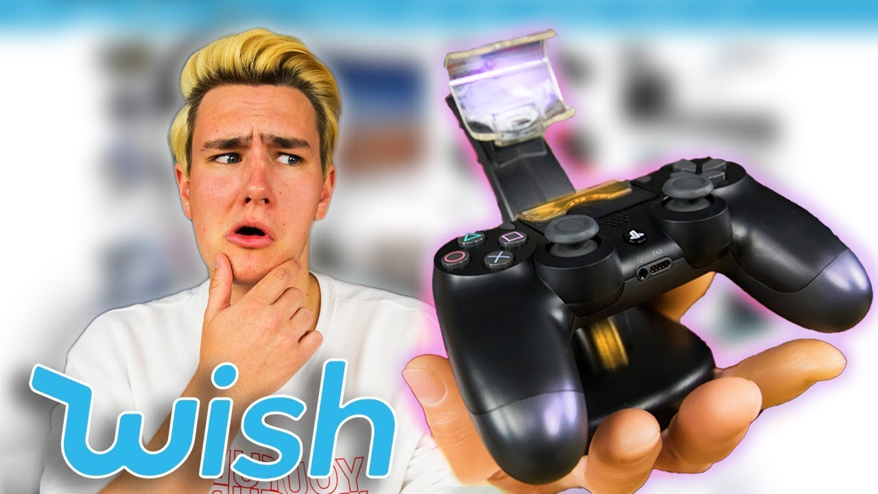 $7 Playstation Charging Dock! - Buying $208 in Wish Tech Items
