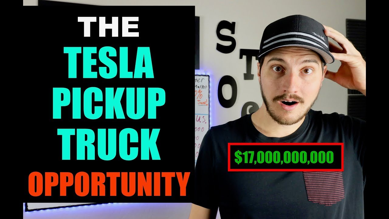 Could Pickup Trucks Be Gamechanger For Tesla & Elon Musk