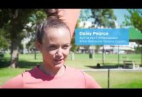 Daisy Pearce - Active April Ambassador & AFLW Melbourne Demons Captain (video)