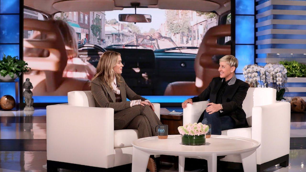 Emily Blunt Praises Husband John Krasinski's Work in 'A Quiet Place: Part II'