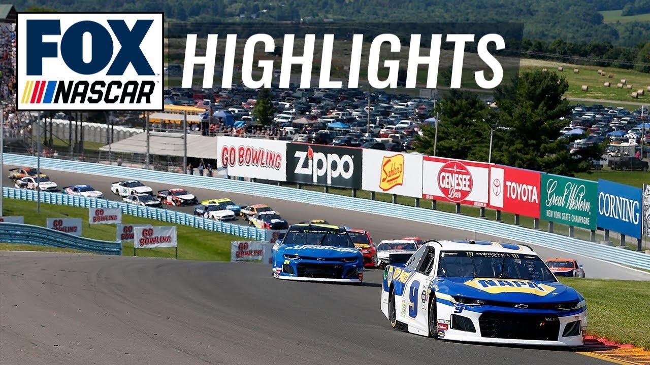 Go Bowling at The Glen | NASCAR on FOX HIGHLIGHTS