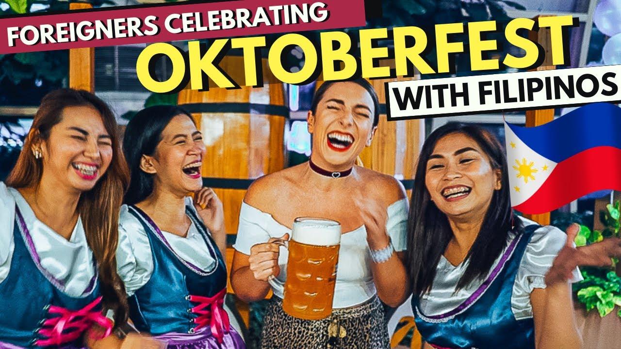 INSANE Oktoberfest in THE PHILIPPINES