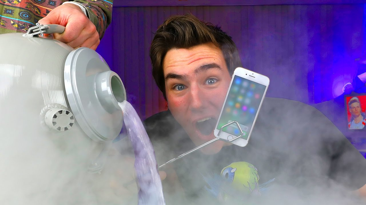 LIQUID NITROGREN vs iPhone 7...Bad Idea?