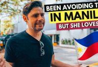 Been AVOIDING THIS in Manila... but SHE LOVES IT! Manila Vlog