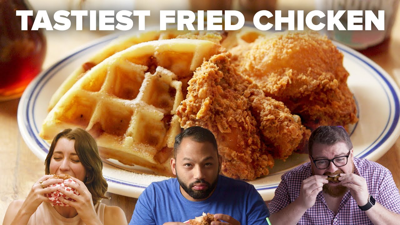 The Tastiest Fried Chicken I've Ever Eaten