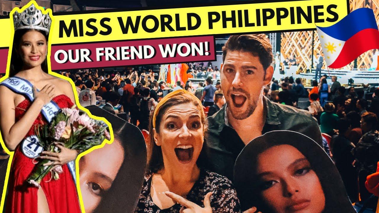 MISS WORLD PHILIPPINES 2019 - our friend MICHELLE DEE WON