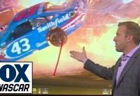 Breaking Down Aric Almirola's Violent Impact at Kansas Speedway | NASCAR RACE HUB