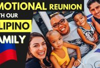 Meet our FILIPINO FAMILY  - emotional REUNION in Camarines Norte