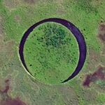 "This Lake Is Home To A Bizarre ""Floating Eye"" Island"
