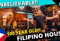 Foreigners REACTION to FILIPINO ANCESTRAL HOUSE and VIGAN FILIPINO FOOD